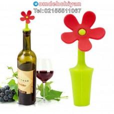درب بطری طرح گل